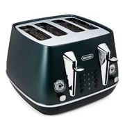DeLonghi - Distinta Flair Four Slice Toaster CTI4003 Green