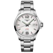 Longines - Conquest V.H.P. Silver Dial S/Steel Watch 43mm