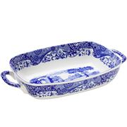 Spode - Blue Italian Two Handled Serving Dish
