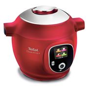 Tefal - Cook4Me+ 6L Multicooker Red CY8515
