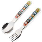 Crocodile Creek - Utensil Set 2pce Jungle Jamboree