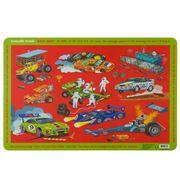 Crocodile Creek - Placemat Race Cars