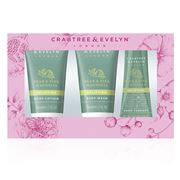 Crabtree & Evelyn - Pear & Pink Magnolia Travel Ritual 3pce