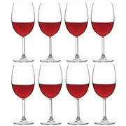 Ecology - Otto Red Wine Glass Pay For 6 Get 8 Set 440ml
