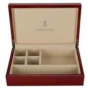 Ferrissimo - Lacquered Wooden Jewellery Box Red