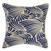 Florence Broadhurst - Fingers Navy Square Cushion