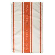 Ladelle - Bella Casa Burnt Orange Tea Towel