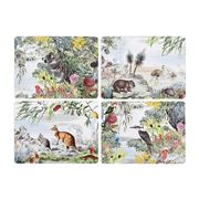 Ashdene - Wildlife Australia Placemat Set 4pce