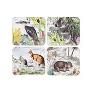Ashdene - Wildlife Australia Coaster Set 4pce