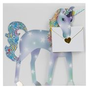 Special Delivery Cards - Unicorn Fold-Out Card