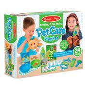 Melissa & Doug - Feeding & Grooming Pet Care Play Set 24pce