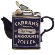 The Teapottery - Farrah's of Harrogate Toffee Teapot
