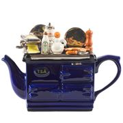 The Teapottery - Italian Aga Blue Large Teapot