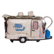 The Teapottery - Silver Airstream Large Teapot