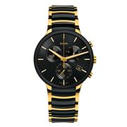Rado - Centrix Black & Gold Chronograph 40mm
