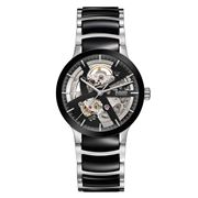 Rado - Centrix Open Heart Black & Steel Watch 38mm