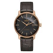 Rado - Coupole Classic Auto. Black & Rose Gold Watch 41mm