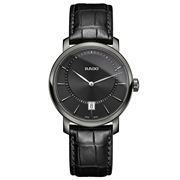 Rado - DiaMaster Black & Steel Watch 40mm