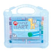 Micador - Early Start Washable Oil Pastels Set 12pce