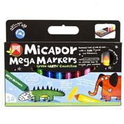 Micador - Mega Marker Set 10pce