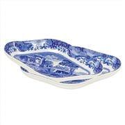 Spode - Blue Italian Pickle Dish Set 2pce