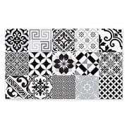 Beija Flor - Vinyl Mat Eclectic Black & White 70x180cm