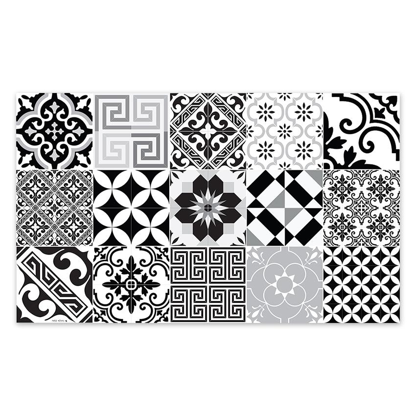 Beija Flor - Vinyl Mat Eclectic Black & White 70x180cm | Peter\'s of ...