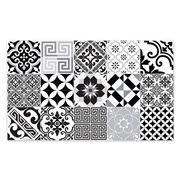 Beija Flor - Vinyl Mat Eclectic Black & White 120x190cm
