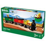 Brio - Safari Train 3pce
