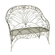 Raz - Antique Garden Bench Grey
