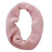 DLUX - Hudson Knit Cotton Loop Scarf Nude