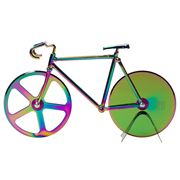 Doiy - Fixie Pizza Cutter Metallic Iridescent