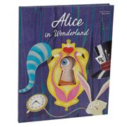 Book - Alice in Wonderland Die Cut Book