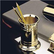 El Casco - Large Pencil Pot Gold