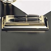 El Casco - Double Pen Holder Gold