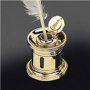 El Casco - 23K Gold Plated Inkwell 656L