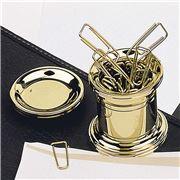 El Casco - Magnetic Clip Holder 23 Kt Gold Plated