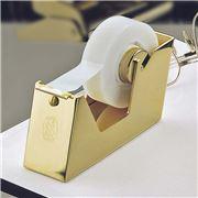 El Casco - 23K Gold Plated Tape Dispenser