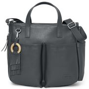 SkipHop - Greenwich Simply Chic Diaper Tote Smoke