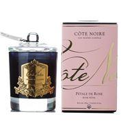 Cote Noire - Gold Rose Petal Candle 185g