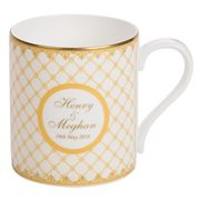 Halcyon Days - Royal Wedding Ivory Mug