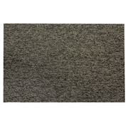 Chilewich - Heathered Shag Indoor/Outdoor Mat Black & Tan