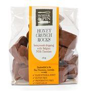 Whisk & Pin - Honey Crunch Rocks Milk Chocolate 180g