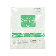 Bambi - Tencel Touch Pillowcase Set White King 2pce