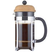 Bodum - Chambord Cork French Press Coffee Maker 8 Cup