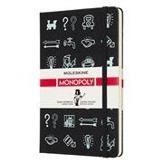 Moleskine - Monopoly Limited Edition Plain Notebook Large