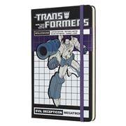 Moleskine - Transformers L.E. Large Ruled Notebook Megatron