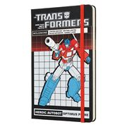 Moleskine - Transformers LE Lrg Ruled Notebook Optimus Prime