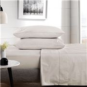 Sheridan - 300 TC Classic Percale Fitted Sheet Dove Queen