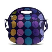 Built NY - Spicy Relish Lunch Tote Plum Dot
